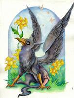 Crowling by TrollGirl