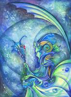 Halls of the Ocean King by TrollGirl