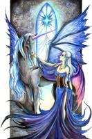 Gothicorn by TrollGirl