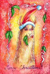 Merry Christllams by TrollGirl