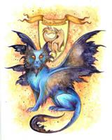 Felis Draconis by TrollGirl