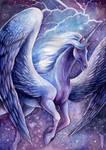 Flight of the Stormbringer by TrollGirl