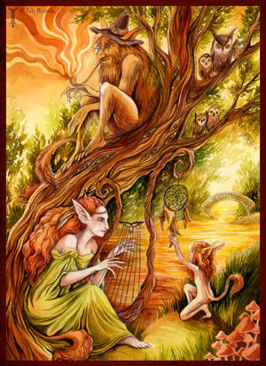 Forest Family by TrollGirl