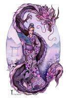 Lavender Serpent by TrollGirl