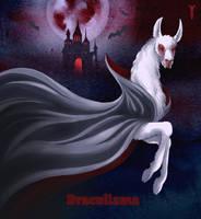 Daily Llama Project - Dracullama by TrollGirl