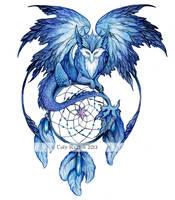 Winter Dream Dragon by TrollGirl