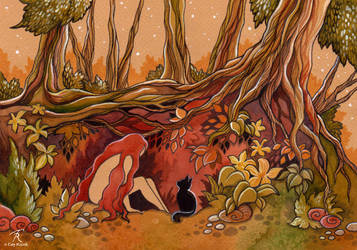 Tangled Roots by TrollGirl