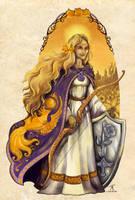 Anagallis Elae Character Design by TrollGirl