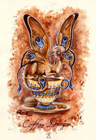 Coffee Dragon by TrollGirl