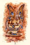 Coffee Dragon by TrollGirl