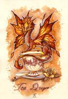 Tea Dragon by TrollGirl