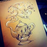 Inktober #17 by TrollGirl