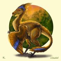 Decembird#8 - extinct by TrollGirl