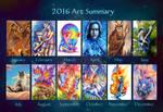2016 Art Summary by TrollGirl