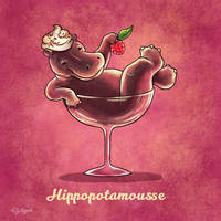 Hippopotamousse by TrollGirl