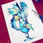 Inktober #12 2018 by TrollGirl