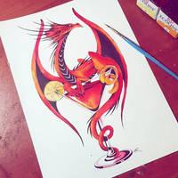 Inktober #18 2018 by TrollGirl