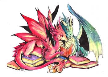 Dragonlove by TrollGirl