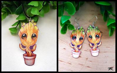 Baby Groot by TrollGirl