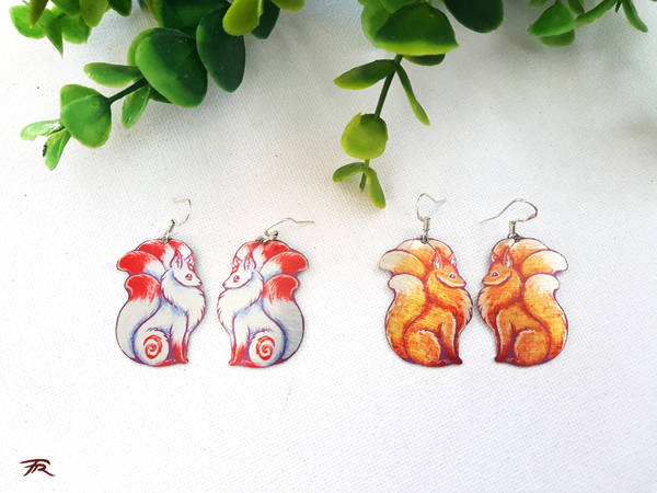 Tiny Kitsune by TrollGirl