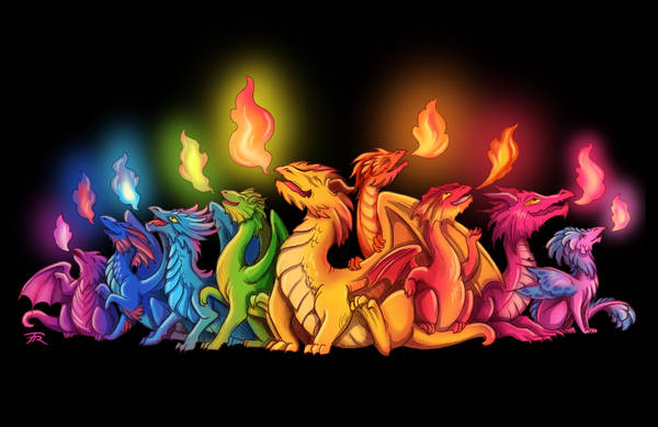 Dragon Pride by TrollGirl