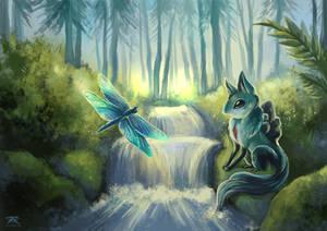 [TWWM] Forest Stream by TrollGirl