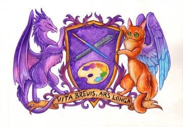 The Trolladriel Crest by TrollGirl