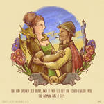 Geeky Valentine - Sybil and Vimes by TrollGirl