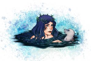 The Selkie for Aludoudhy by Clange-kaze