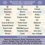 30 Days Art Challenge Folklore japonais by Clange-kaze