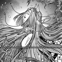 Yokai - Kitsune by Clange-kaze