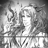 Yokai - Oni by Clange-kaze