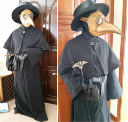 Plague Doctor Costume by Azadeth