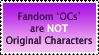 The Sad Truth About OCs by OneLovelySin