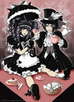 Elegant Tea Party by OneLovelySin