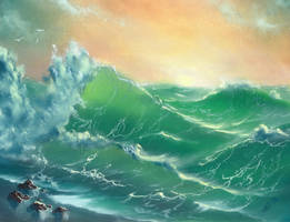 The Ocean. Nuo7 by AgGallery