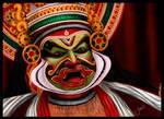 Kathakali by shwaaz