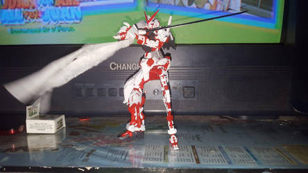 (WIP) RG 1/144 Gundam Astray Red Frame by shortybludlust