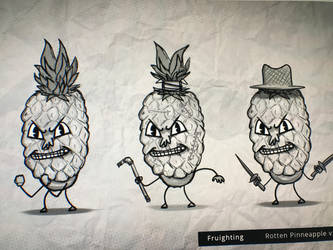 Pineapple variations by lipknik