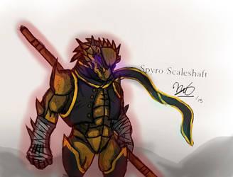 Spyro Scaleshaft by Natrill
