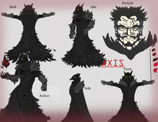 Axis [Character Sheet] by Natrill