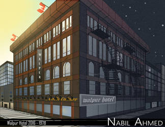 Walpur Hotel Before and After Perspective by Natrill