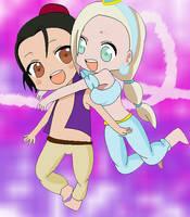 ShikaIno: Aladdin by link-itasasu-freak