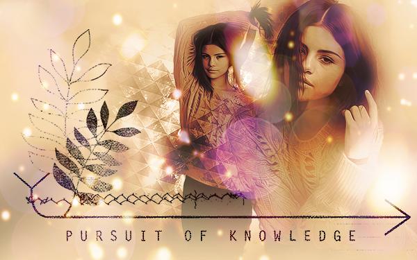 Selena Gomez - Pursuit of Knowledge by websparkle