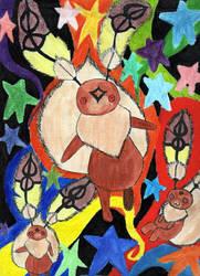 Happy Bunny by Sacred-MOMO