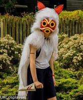 San (Princess Mononoke) by serensloth
