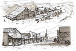 Western Town by RyanLovelock