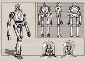 Dieselpunk Robot by RyanLovelock