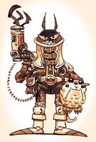 Galactic Puppy Bounty Hunter by RyanLovelock
