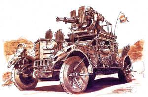 STEGO Assault Vehicle by RyanLovelock